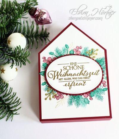 Besinnlicher Advent-Hausverpackung fuer Schokolade-Weihnachtsset-Stampin Up-Stempelzimmer-Elvira Hörtner