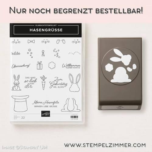 Produktpaket Hasengrüße-Stampin' Up!