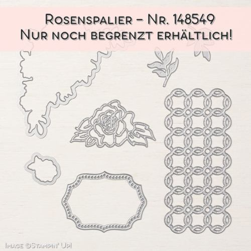 Rosenspalier-Stampin' Up!
