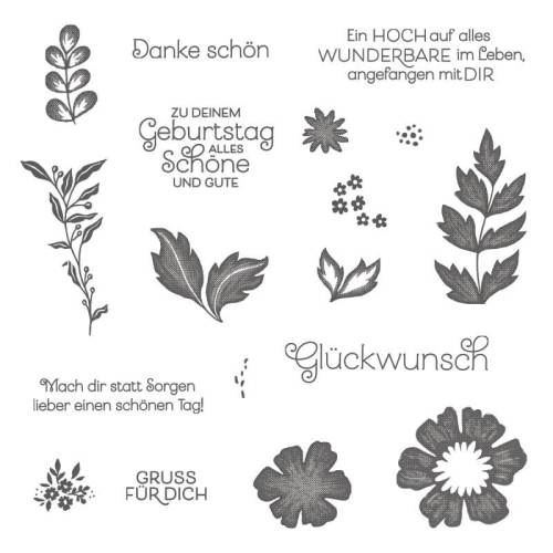 Alles Wunderbare-everything is rosy-Stampin Up