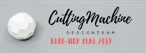 Cutting Machine Desig Team-Blog Hop-Muttertag-Herz
