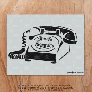 Pin Telephonestencil on Pinterest