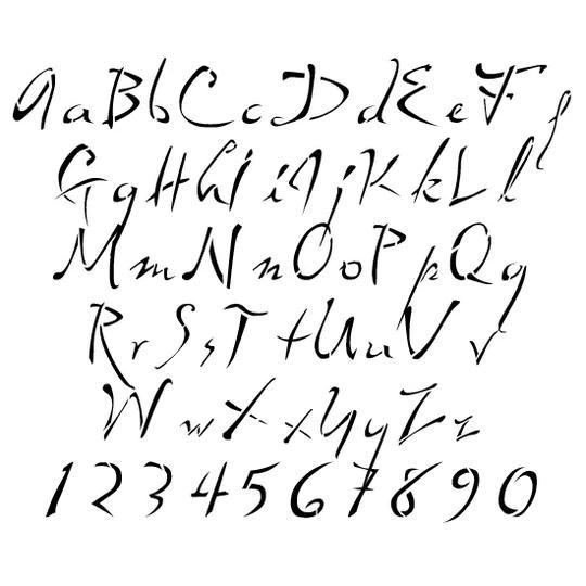 cuipercysun: lettering