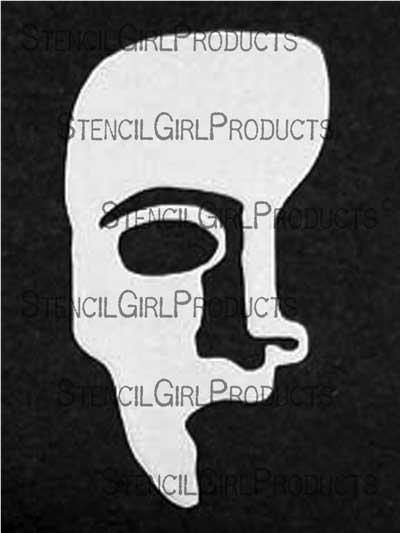 Phantom of the Opera Male Mask Stencil  Pam Carriker
