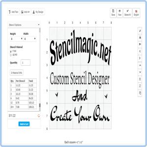 Custom Stencil Designer