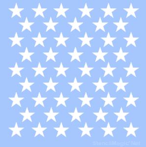 1-50-Star-Stencil-Patriot-American-Flag-7-Mil-Mylar-Stencils-173630567370
