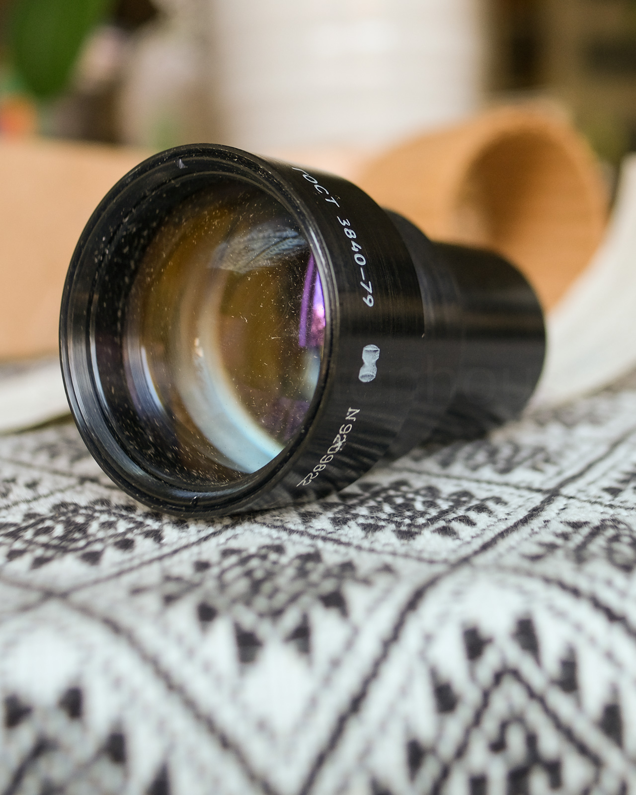 Projector Lens for Free Lensing