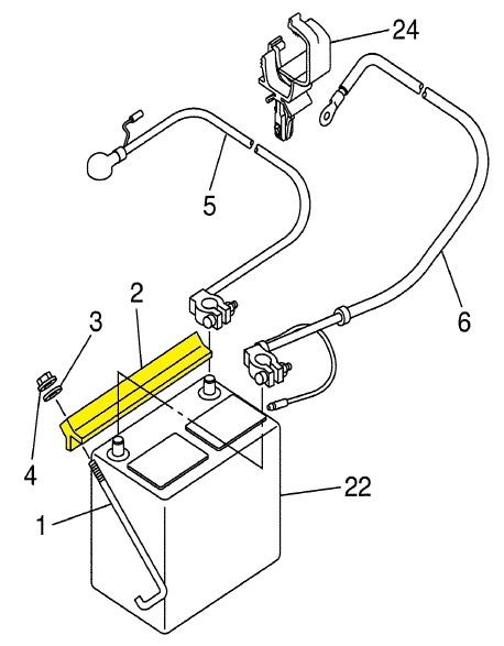 Stenten's Golf Cart Accessories. Battery Hold Down