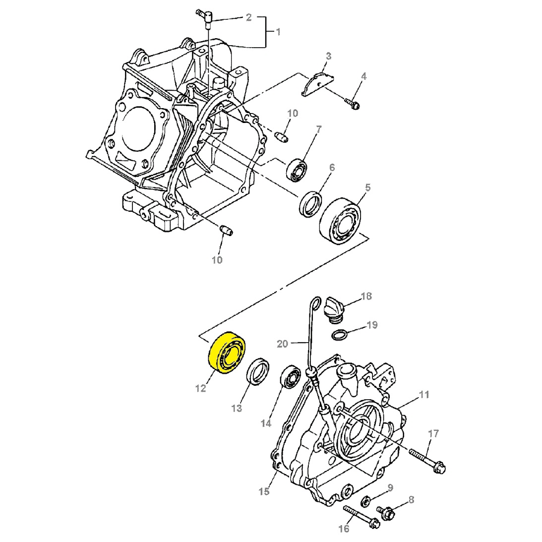 Yamaha G11 Golf Cart Wiring Diagram Gas Diagram