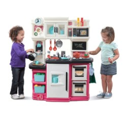 Step 2 Play Kitchens Metal Wall Tiles For Kitchen Kids Wooden Toddler Step2 Great Gourmet Pink