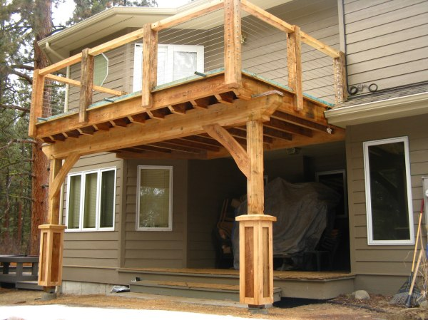 Building a Covered Porch Roof