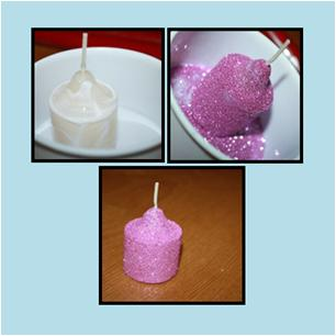 Repurpose Creamer Bottle Into Glitter Candle Holder For Holiday Christmas Decorations Crafts How
