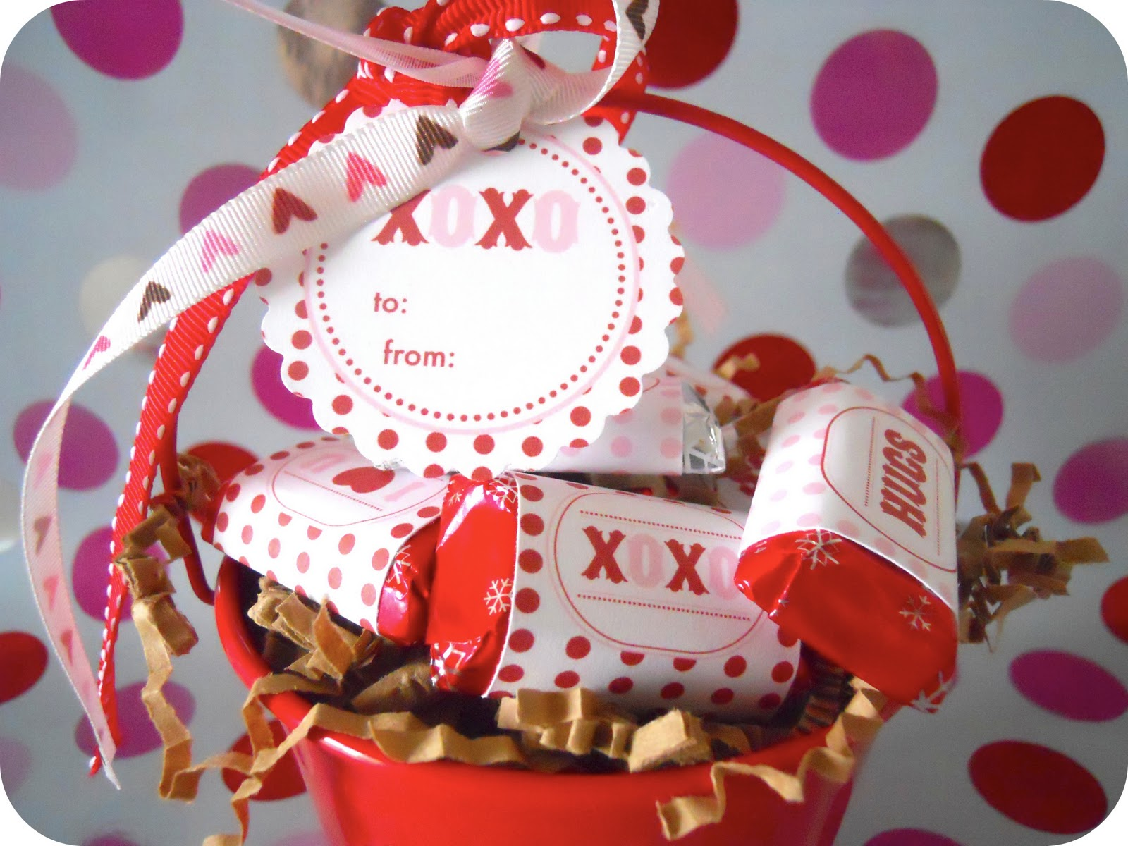 Make Valentine Candy Wrappers