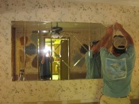 how to remove a bathroom mirror glued to the wall - 28 ...