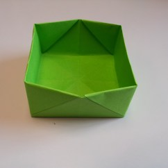 Folding Origami Box Diagram Visio Wiring How To Make Boxes