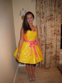 Simple Duct Tape Dress   www.imgkid.com - The Image Kid ...