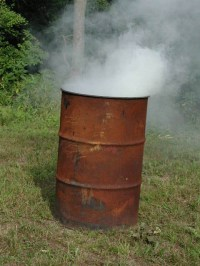 How to Burn Trash Safely at Home