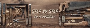 step by step do it yourself header