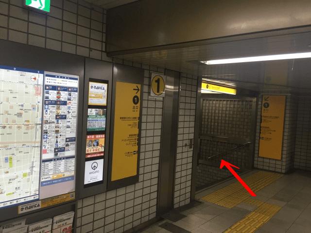 御堂筋線本町駅からstep by stepゴルフスクールアクセス