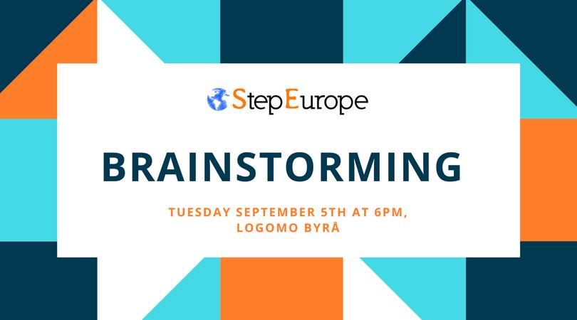 Brainstorming evening – September 17