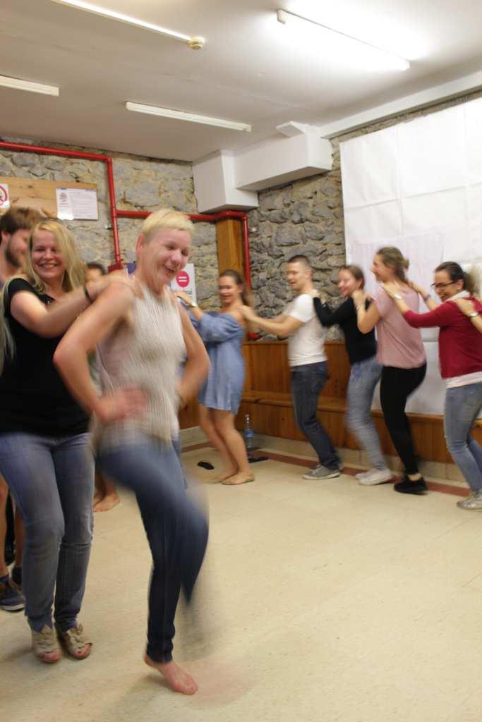 dancing Letkajenkka in cultural evening-min