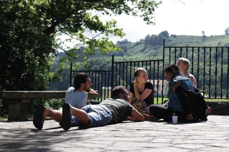 study session outside in the (rare) sun (1)-min