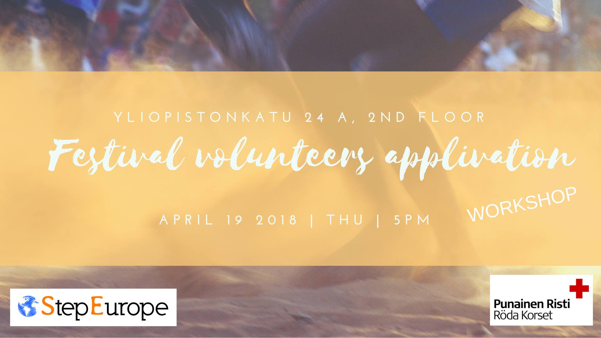 Festival Volunteers Application Workshop 17.5