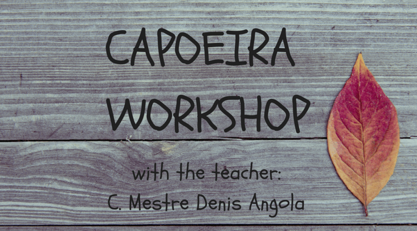 Capoeira and creative process workshop