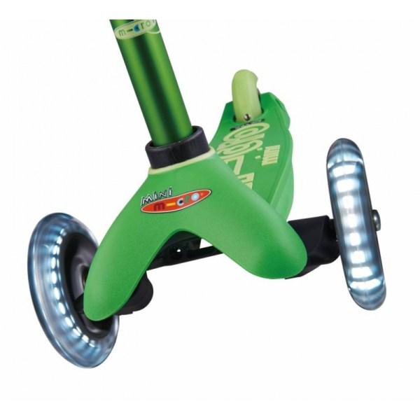Micro Mini Deluxe LED Green