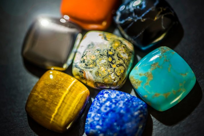 Gemstones from all continents