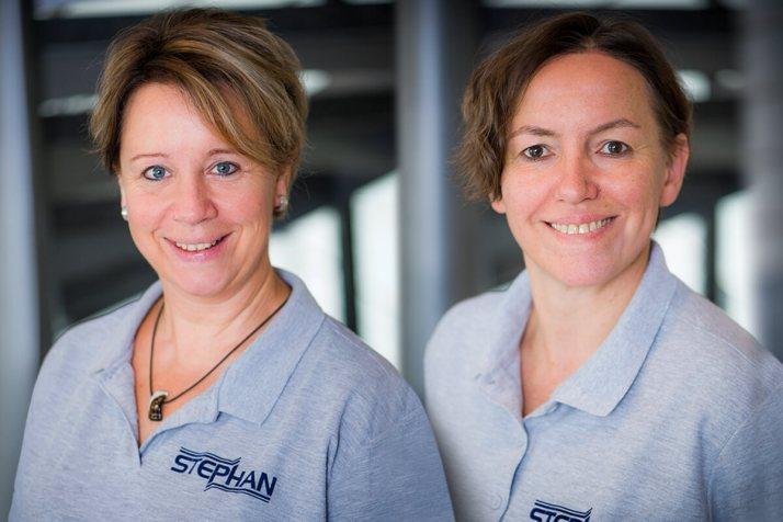 Susanne Müller-Ostgen (li.) und Anja Schüssler (re.)