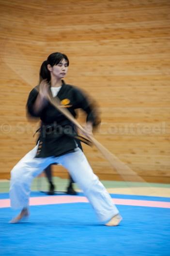 Tournoi de Bo - Karate Kaikan - Naha