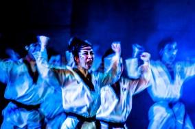 Bleu Kiai -Taekwondo -TAL world tour 2012 - Unesco