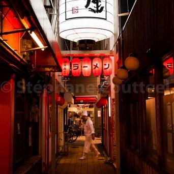 Un chef à Dotombori - Osaka - Japon