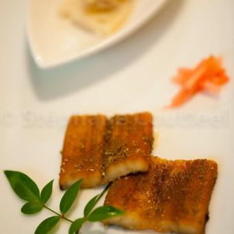 Sakizuke Unagi - Anguille grillee - Japon