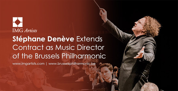 Stéphane Denève Extends Contract as Music Director of the Brussels Philharmonic until 2022