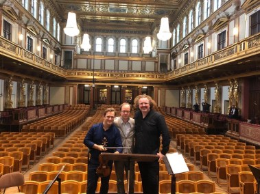 Renaud Capuçon, Guillaume Connesson & Stéphane in Gewandhaus, Vienna
