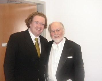 Stéphane and John Williams.