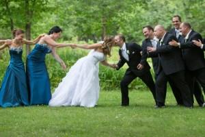 Très beau mariage au Parcours du Cerf