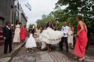 Un mariage débridé mêlant rythme et danse par Stéphane Lemieux Photographe de mariage