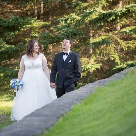 Petit mariage intime au pied du Mont-Tremblant