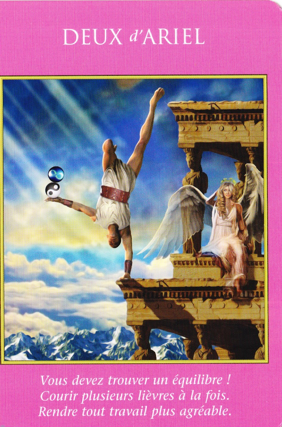 2 d'Ariel - Tarot des Archanges - Doreen Virtue