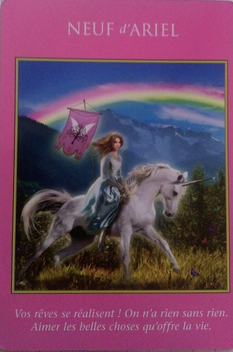03 - 9 d'Ariel - Le Tarot des Archanges - Doreen Virtue
