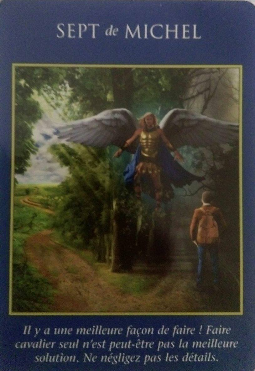 06- 7 de Michael - Le Tarot des Archanges Doreen Virutue