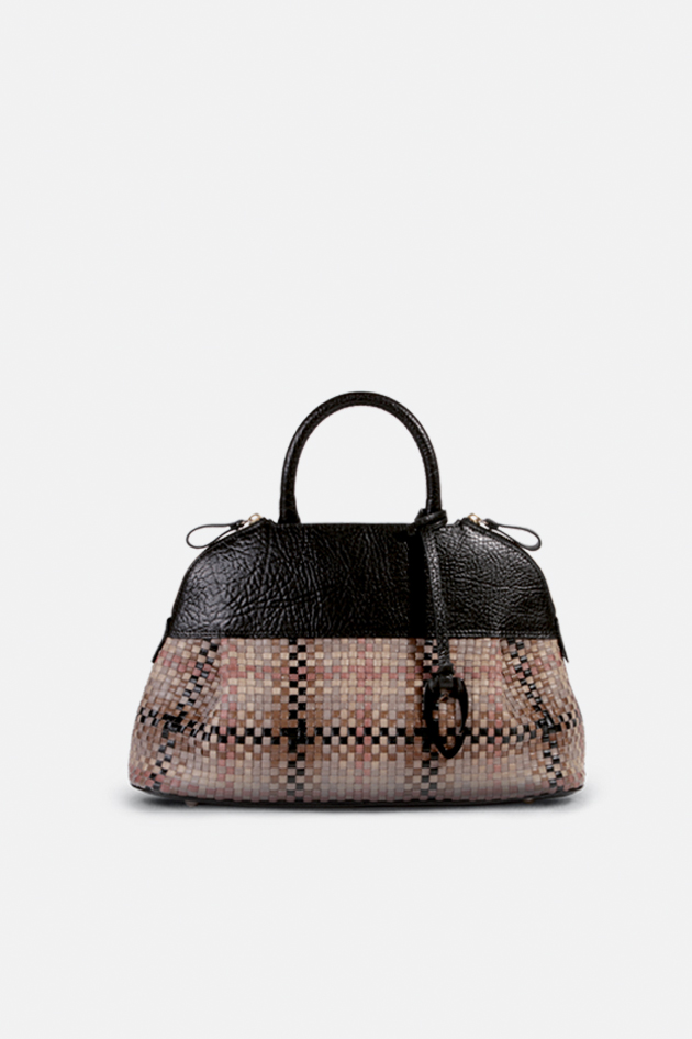 Bettina Ladybag Tressé Sac Césaire