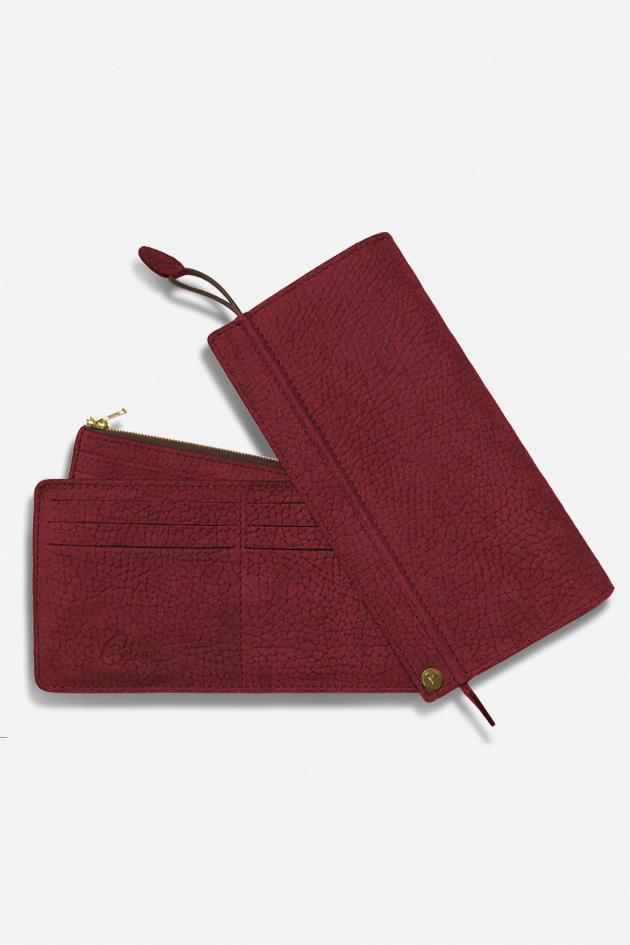 Grand portefeuille éventail Césaire Paris fabriqué en France