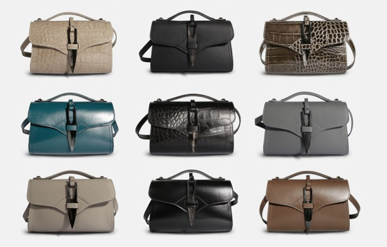 Sac bandoulière Designer handbag Césaire Paris fabriqué en Made in France