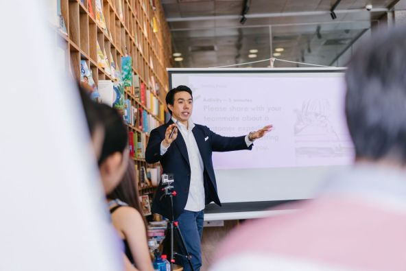 speaking to market your coaching