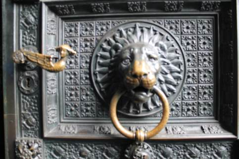 Cologne Cathedral door handle