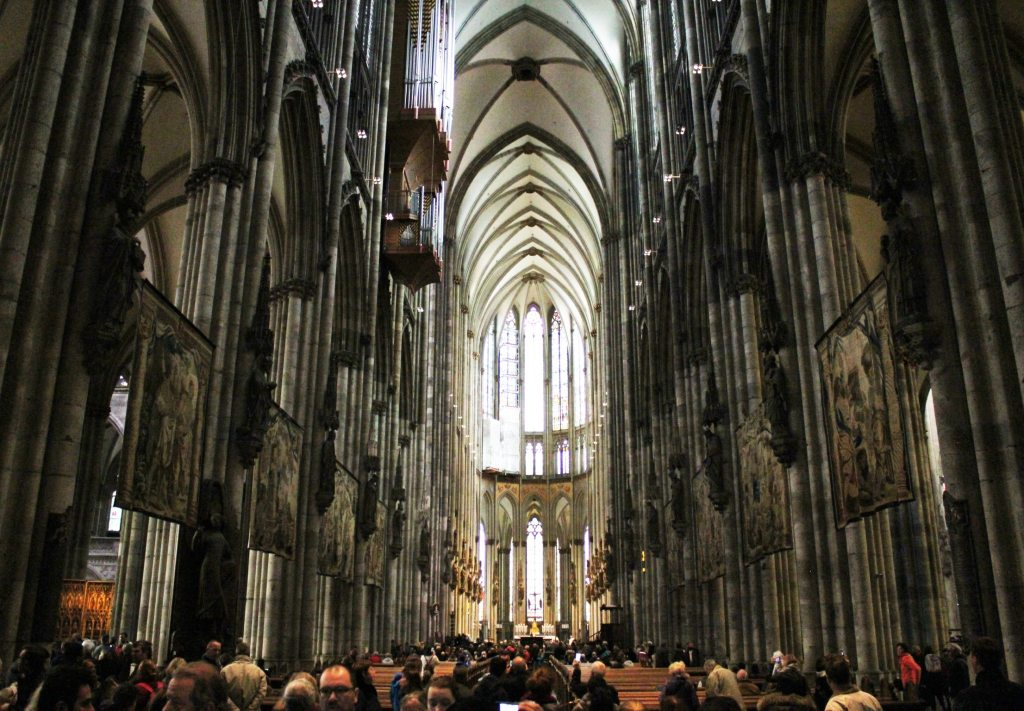 Cologne Cathedral service
